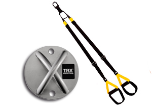 Kit TRX Suspension Training + Anclaje para Pared