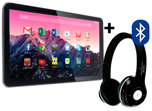 Tablet Android Gadnic i10 10″ + Auriculares Bluetooth
