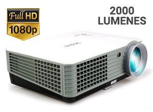 Proyector Gadnic   Prolight 2000 Lúmenes