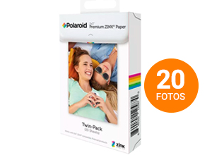 Rollo Polaroid para Camara Snap Pack x 20