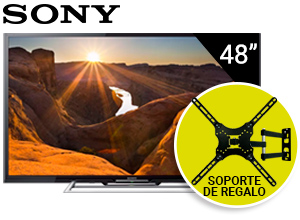 Kit Smart TV Led Sony Full HD 48″ + Soporte Regalo!