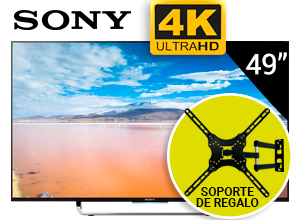 Tv Led Sony 49 4k Hdmi Wifi Usb Android + Soporte Regalo!