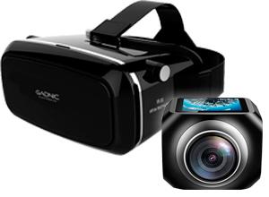 Cámara Gadnic 360° Bubble + Virtual Box