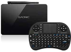 Kit Tv box Gadnic 4K tx-800 32 GB + Mini teclado